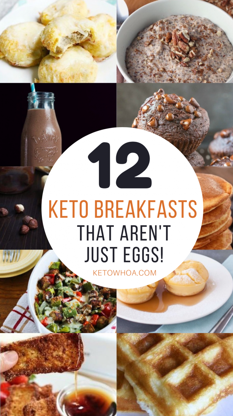 12 Best Low Carb Keto Breakfast Recipes That Aren't Just Eggs images