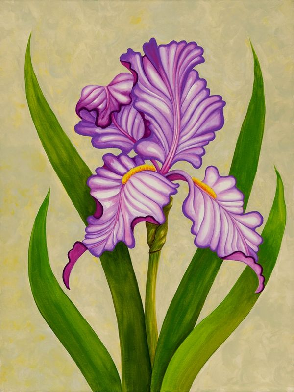 IRIS, DECOUPAGE PRINTABLE