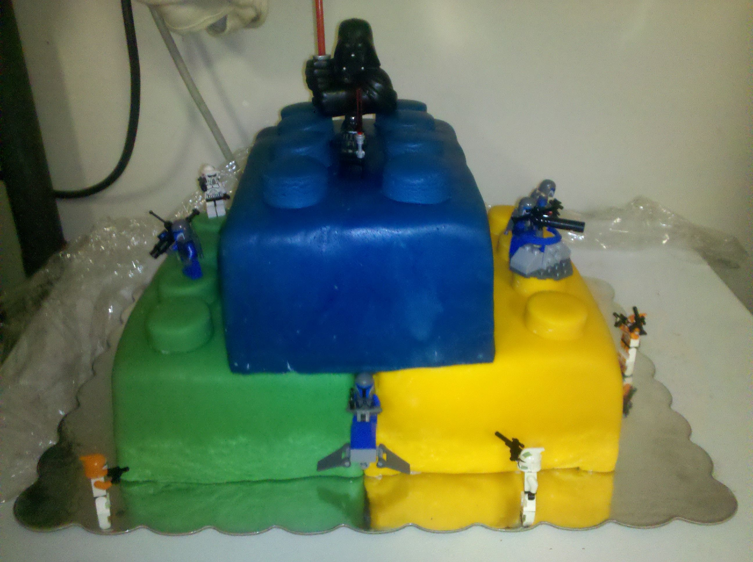 Ryland's 5th Birthday Cake! Big thanks to Captain Rex for crashing our party from a galaxy far, far away!