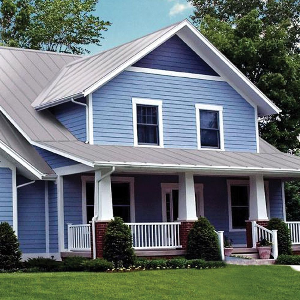 Metal Sales Gable Trim in Charcoal4206017 The Home
