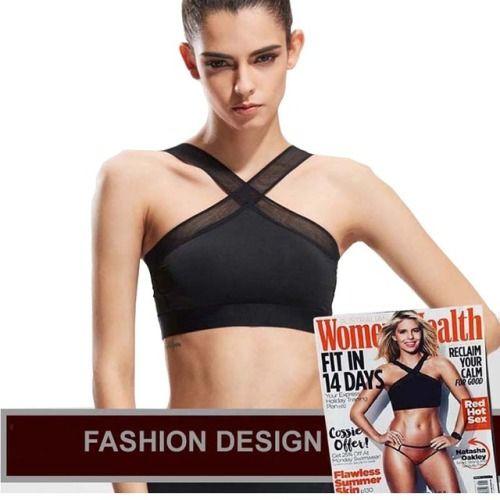 64b39407a2 ราคา New Women Sexy Sports Bras Quick Dry Gym Criss Cross...