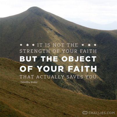 The Strength of Faith