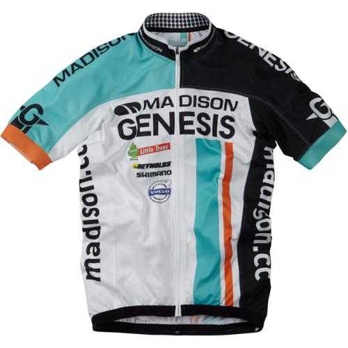 Madison Genesis Pro Team Short Sleeve Cycling Jersey  b44eaa4ef