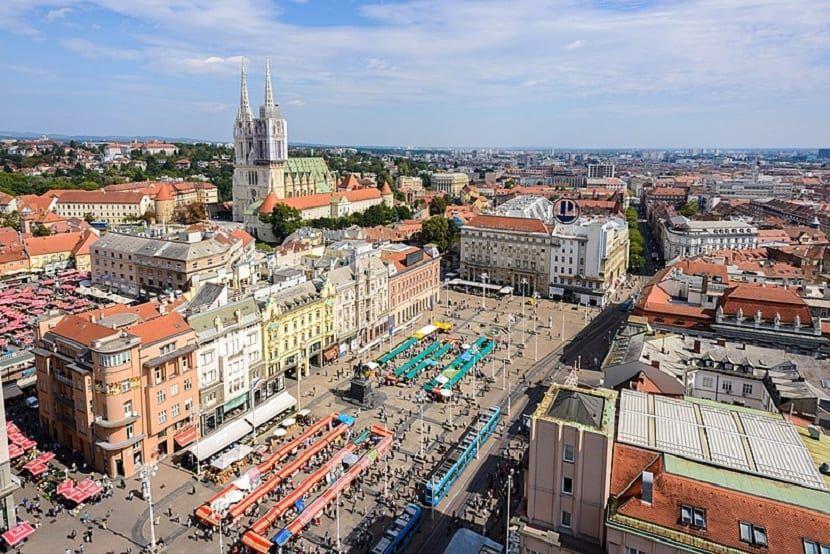 Zagreb Que Ver Zagreb Croacia Estacion De Ferrocarriles