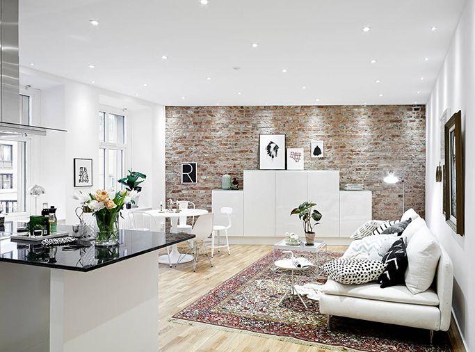 Slate Wall Tiles Living Room
