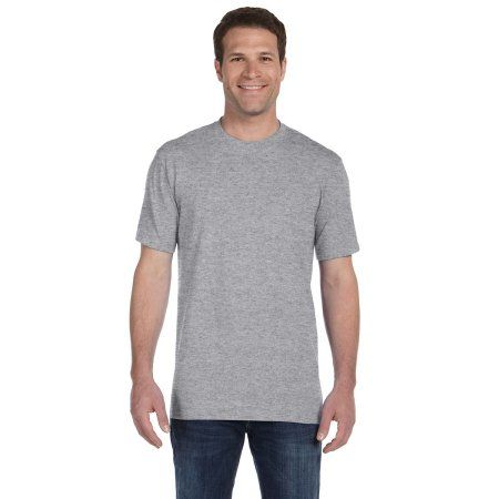 deca371d Mens Clementine Ringspun Midweight T-Shirt, Size: XL, Gray ...