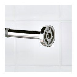The Spring Mechanism Makes Shower Curtain Rod Easy To Install Without Screws Or Drilling Slides Easily Back And Forth Thanks