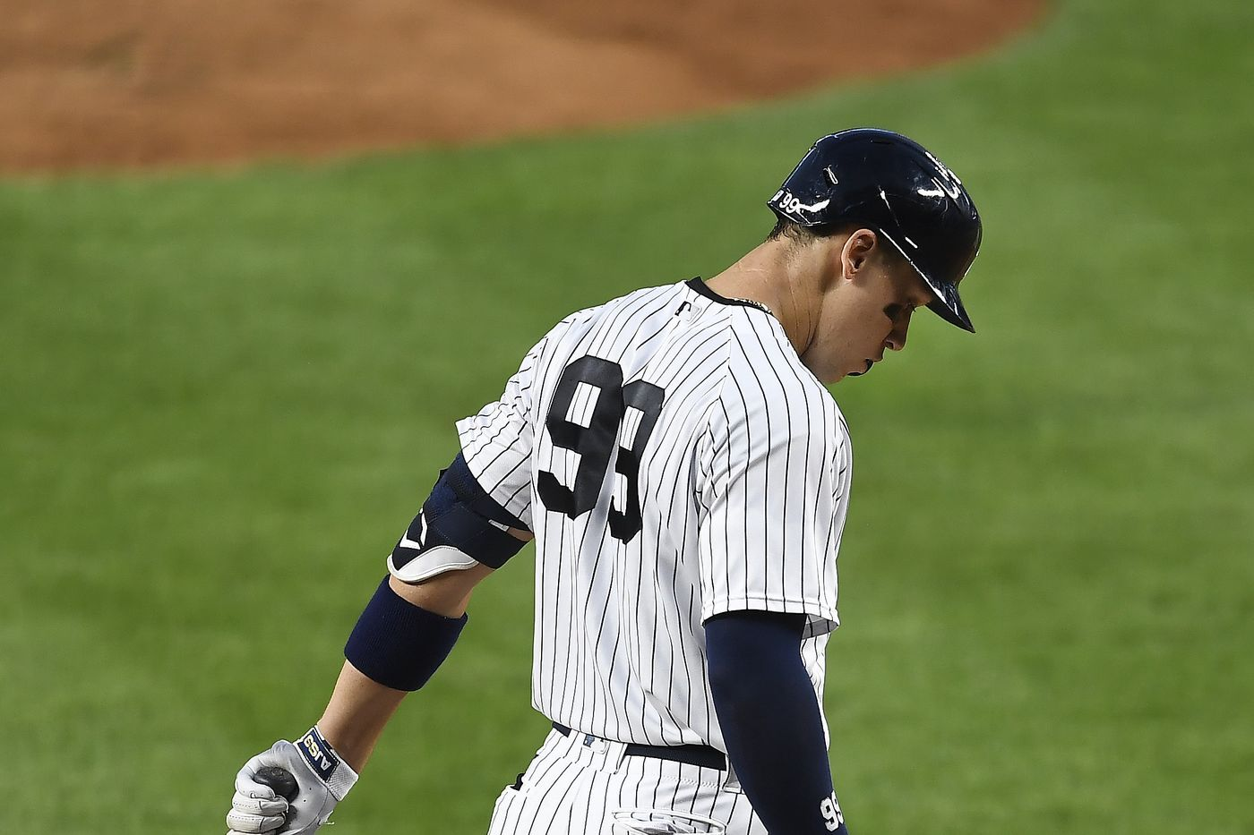 New York Yankees News Aaron Judge Out Temporarily Pinstripe Alley In 2020 Yankees News New York Yankees Yankees