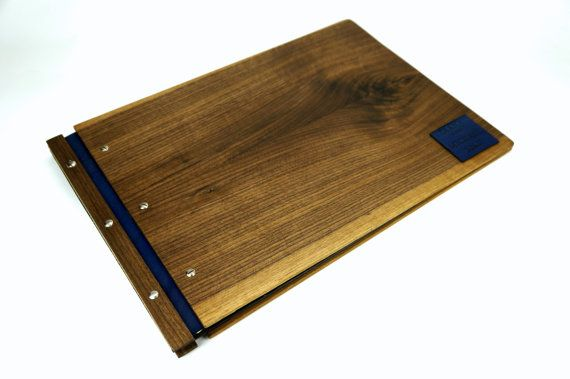 12 X 17 Walnut Wood A3 Portfolio Drawing Book Graphic