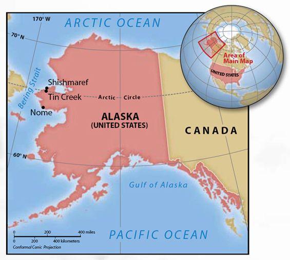 Shishmaref Alaska | Shishmaref, Alaska:… | Alaska: Nine ...