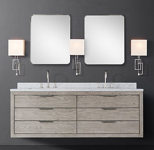 Floating Vanities | RH Modern