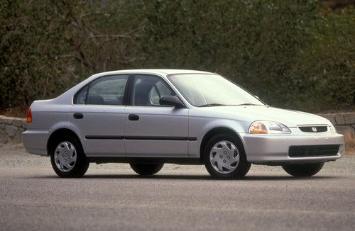1996 Honda Civic Lx Sedan Sixth Generation 1996 2000 Autos Hondas Noticia
