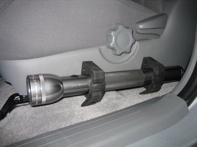 Flash light mount in cab. Toyota Nation Forum Toyota