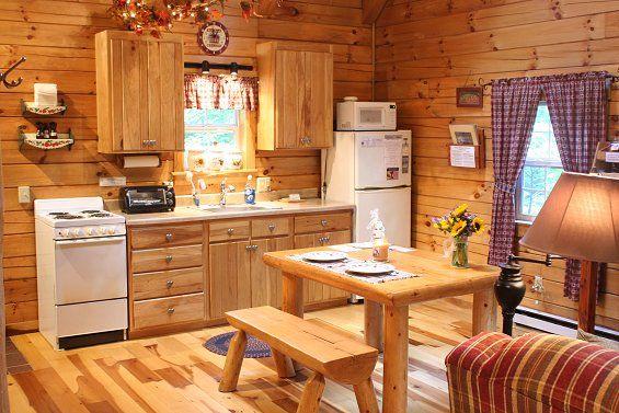 Luxury Hocking Hills Ohio Cabin Rental Lovers Loft Cabin Ash Ridge Cabins Tiny House Kitchen Tiny Cabin Kitchen Small Cabin Kitchens