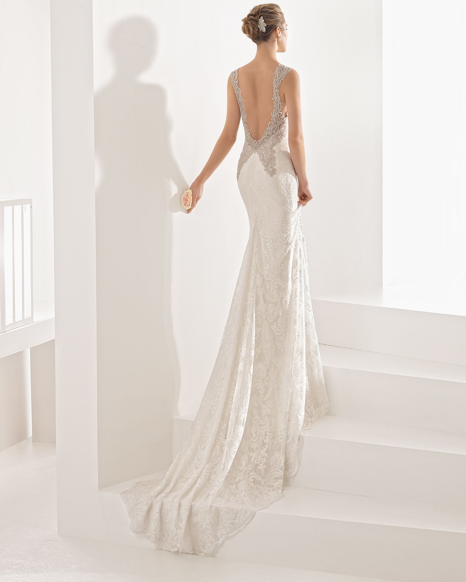 Nagore - 2017 Bridal Collection. Rosa Clará.   Rückenfrei, Braut und ...