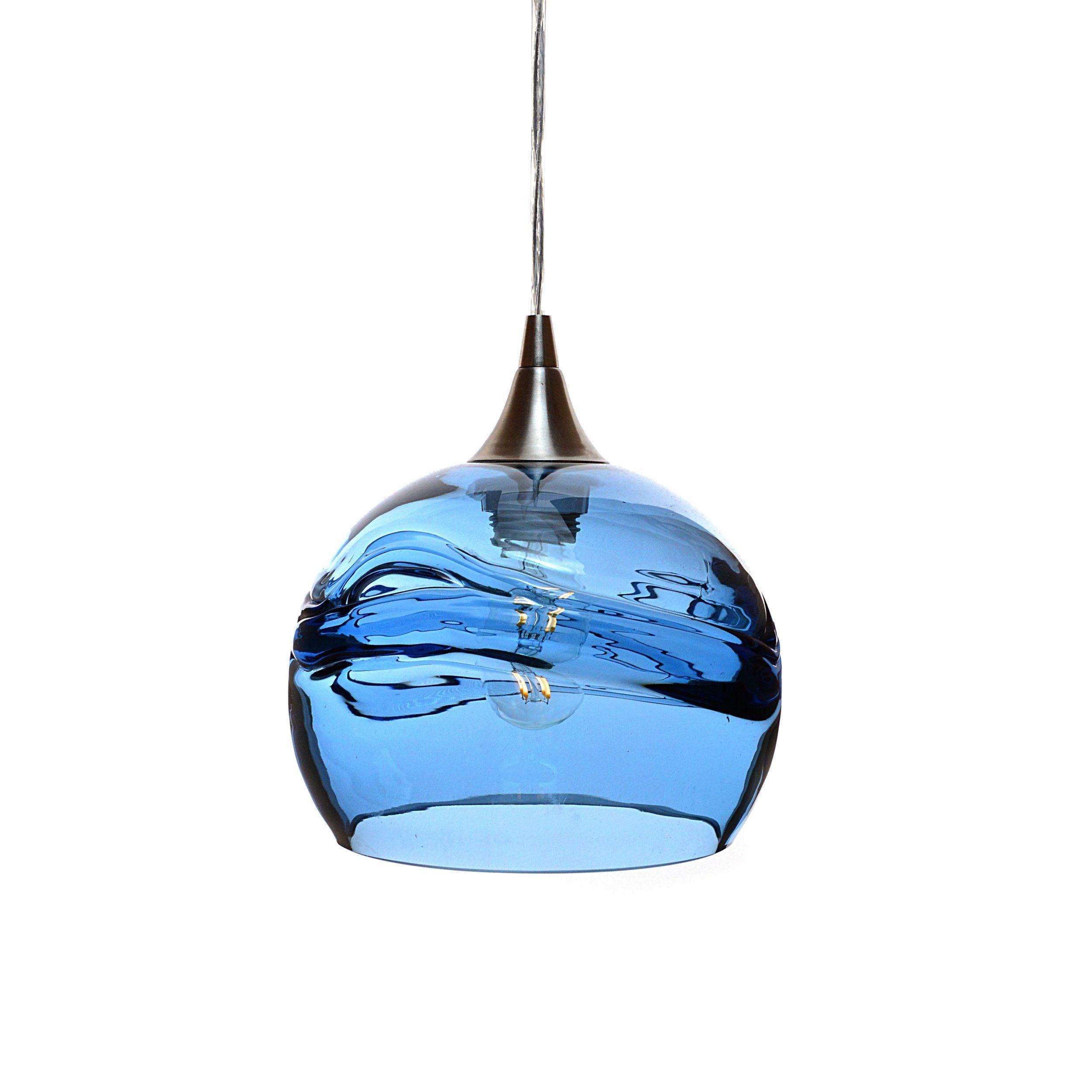 767 Swell Single Pendant Light Single Pendant Lighting Blown Glass Pendant Light Pendant Light