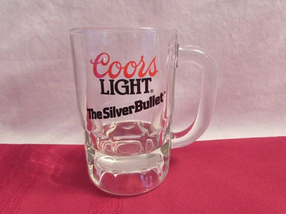 COORS LIGHT The Silver Bullet Mug by OurLeftovers on Etsy