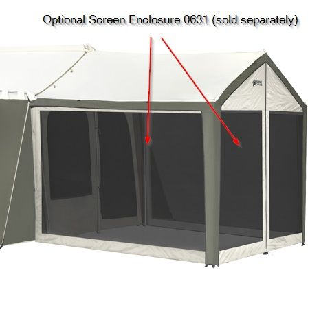Kodiak Canvas Tent - 6 Person 9 ft. x 12 ft. with Deluxe Awning  sc 1 st  Pinterest & Kodiak Canvas Tent - 6 Person 9 ft. x 12 ft. with Deluxe Awning ...