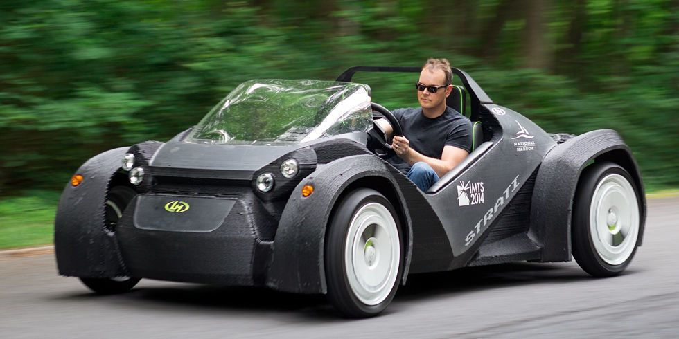 The World\'s First 3D-Printed Car Is a Blast to Drive | Cars, Wheels ...