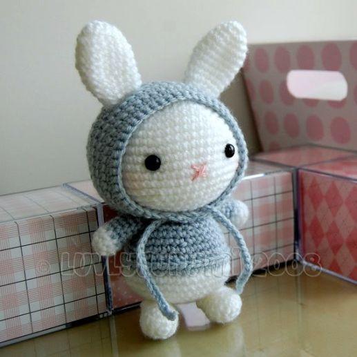 Amigurumi Patterns Rabbit : Fa�a voc� mesmo decora��o de p�scoa amigurumi crochet