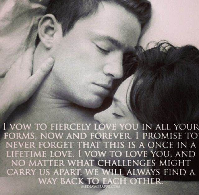 The Vow | Movie quotes, Love quotes, Vows