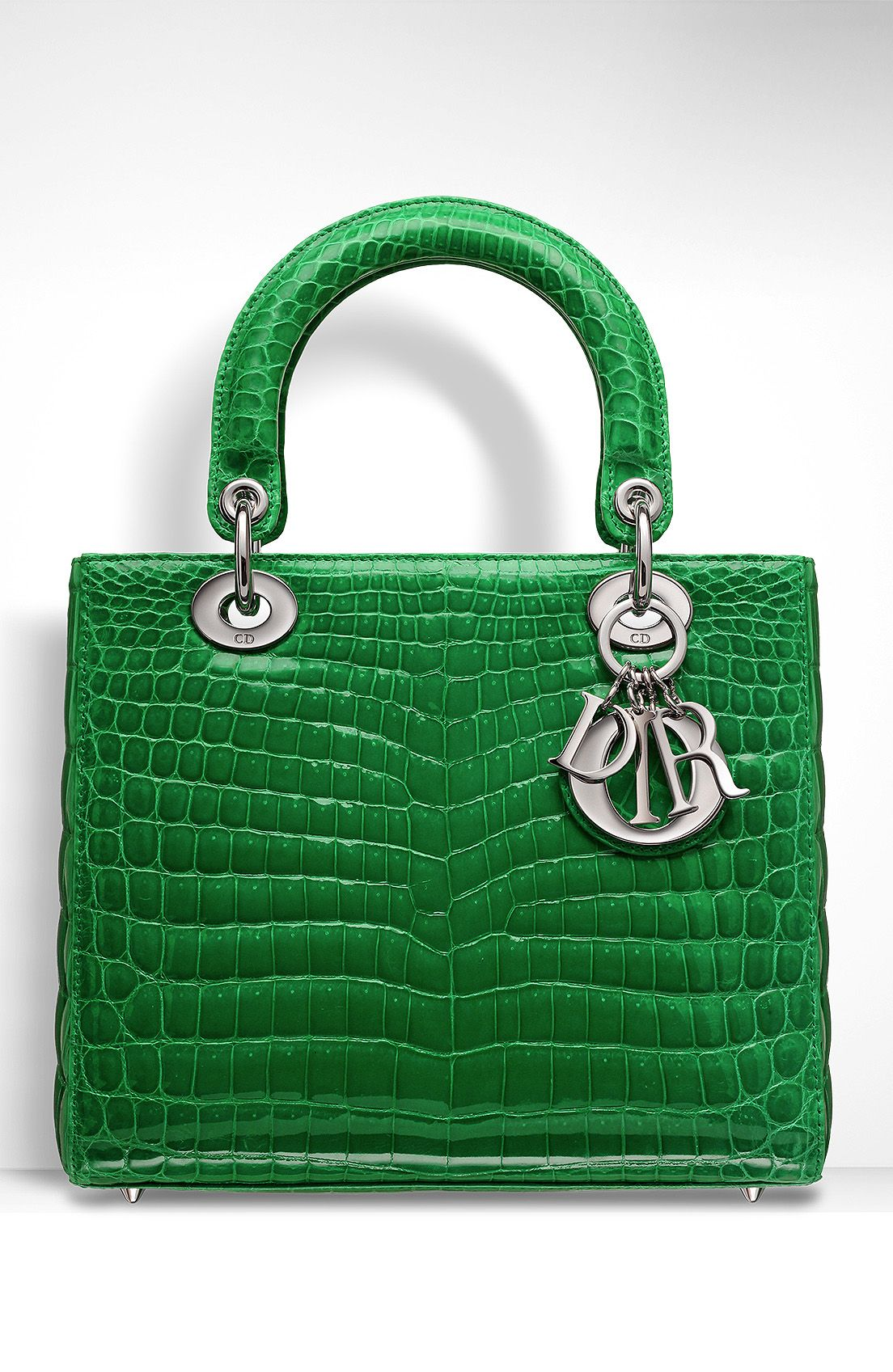 Watch - Dior lady crocodile pattern bag sale video