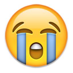 loudly crying face emoji | emoji | pinterest | crying face, emoji