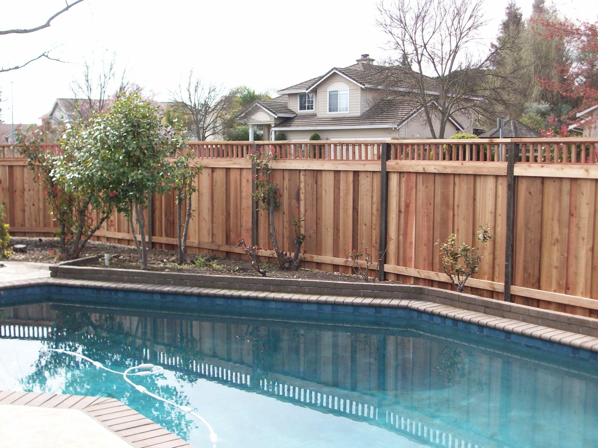 Pool Fence Pool houses, Diy backyard patio, Top treatments