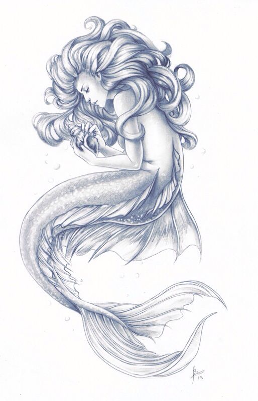 I Wish I Knew How To Draw Mermaids I Would Have So Much Fun Doing