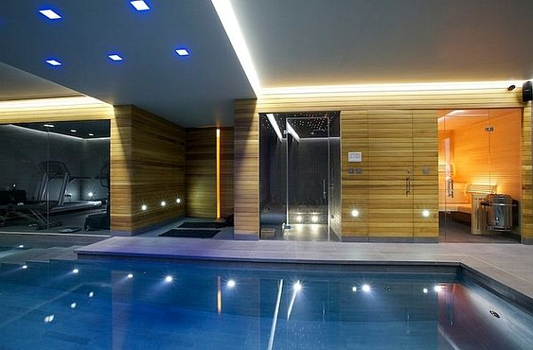 50 Indoor Pool Ideas Swimming In Style Any Time Of Year Indoor Pool Design Modern Pools Indoor Swimming Pools