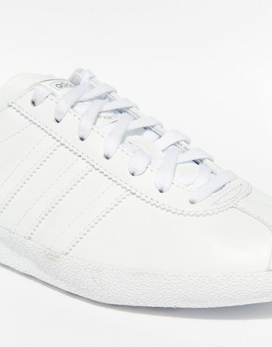 adidas gazelle og blancas