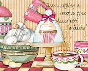 Nancy Mink Art - Sweet Friendship by Nancy Mink