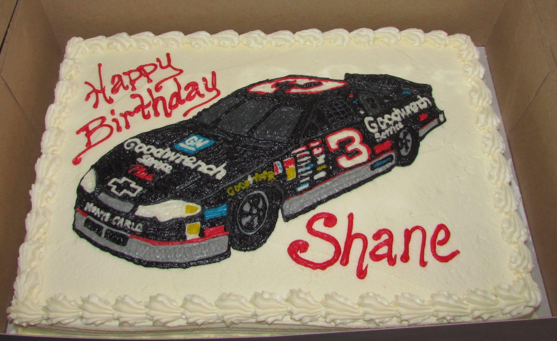 Dale Earnhardt 3 Race Car Cake Sheet Cakes Pinterest