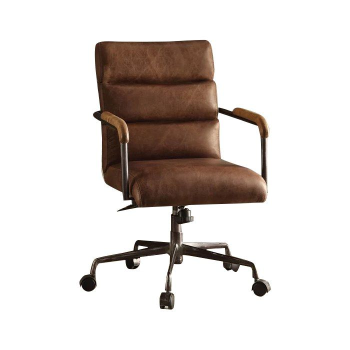 63f953f2f32b Springtown Genuine Leather Conference Chair in 2019