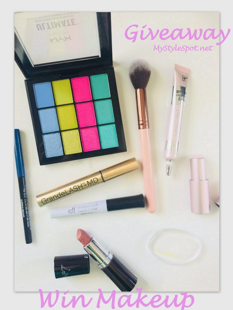 Giveaway Win 100 Worth Of Makeup Mystylespot Makeup Giveaway Beauty Giveaway Giveaway