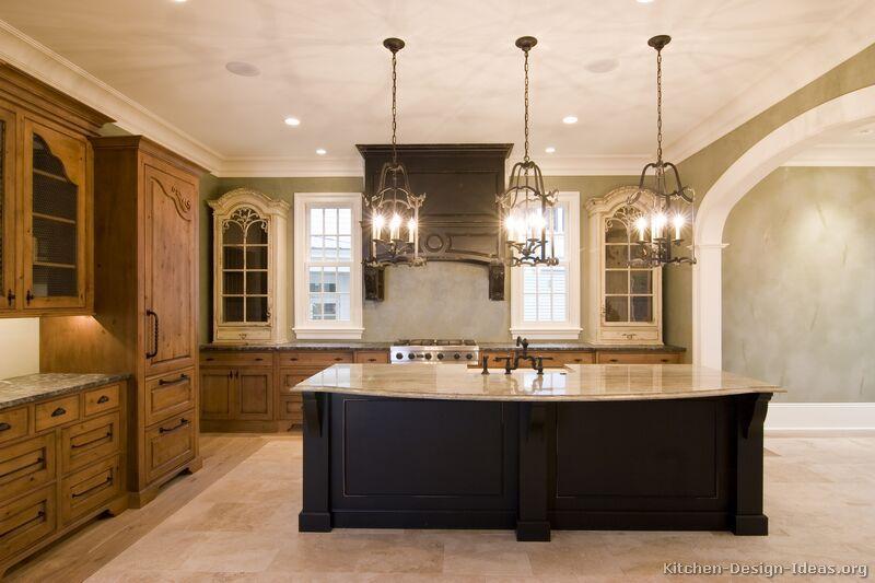 Elegante und ruhige küche island lighting design halten sie den