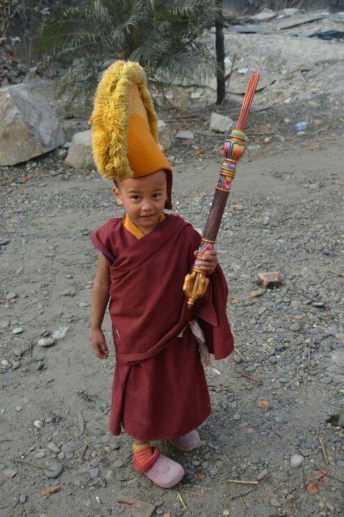 Segyu Monastery Mini-Monk