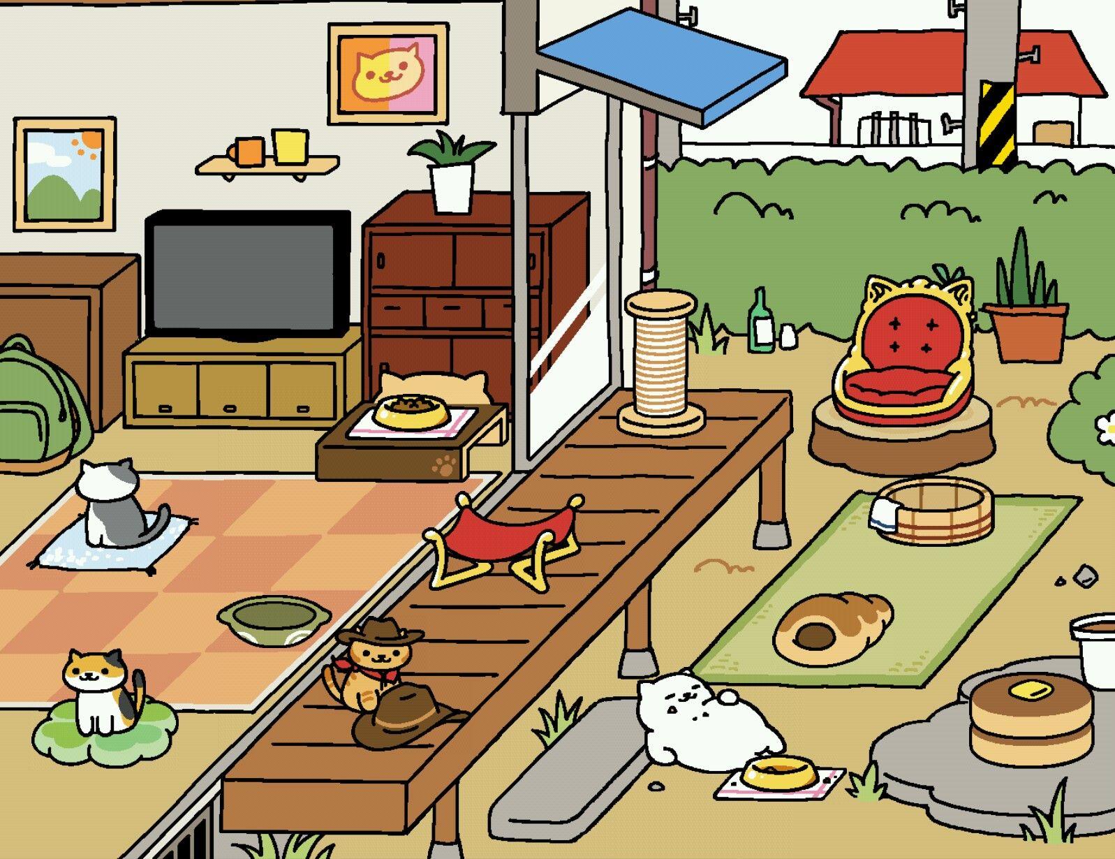 Finally Found Billy The Kitten Neko Atsume Atsume Neko Atsume Kitty Collector