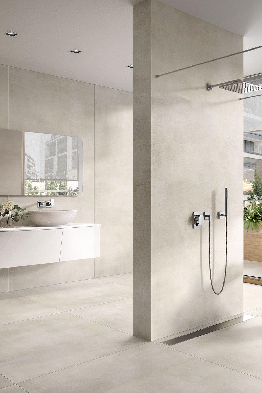 Villeroyundboch Spotlight Optima Waschbecken Design Badezimmer Betonoptik