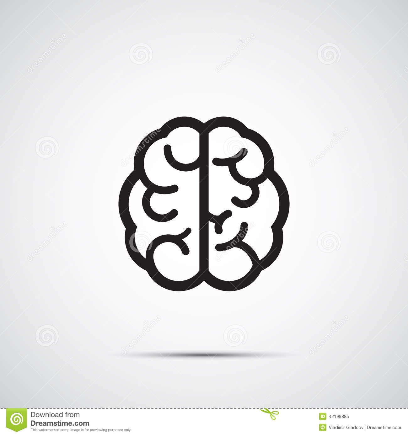 Vector brain icon graphic pinterest brain icons and illustrations vector brain icon biocorpaavc Images