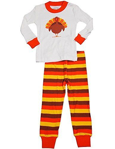 A pair of Thanksgiving pajamas for kids is a fun way to celebrate the  holiday. Available in toddler and big kid sizes there are fun styles for  girls & boys.