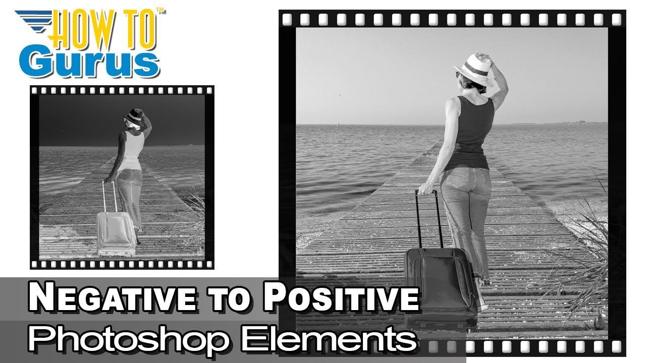 How to do a Elements Negative to Positive Effect