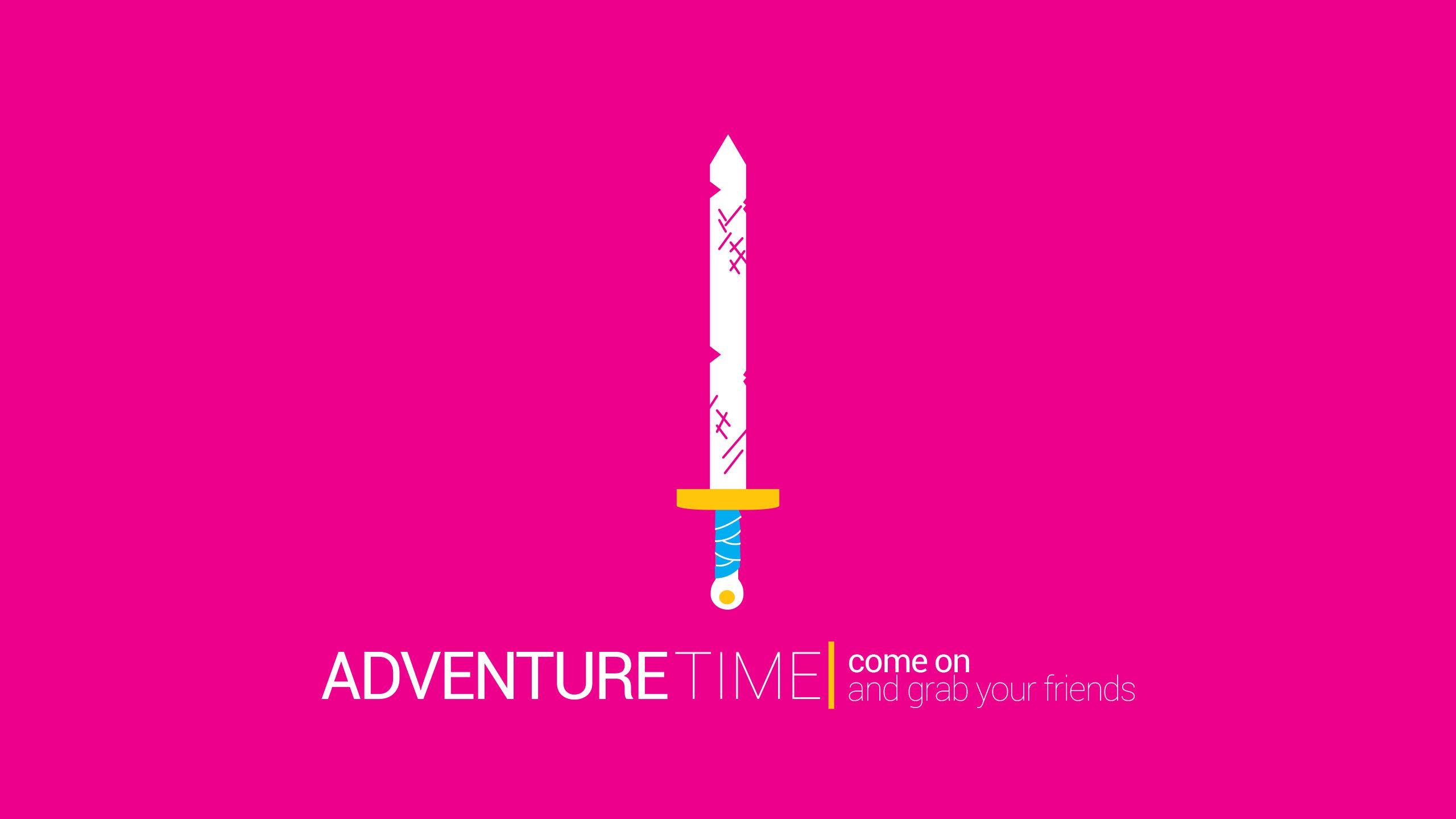 Adventure Time 2560x1440 [OC]