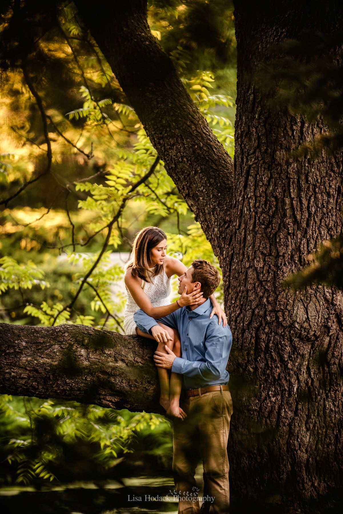 Dow Gardens, Midland, Michigan, Engagement Session | Lisa Hodack ...