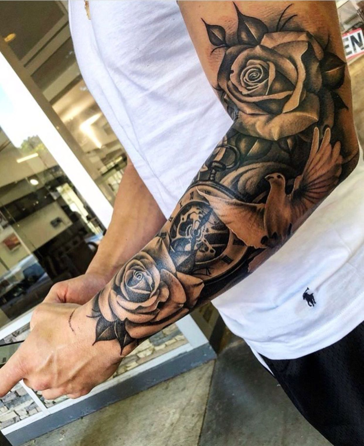 Right Wrist Half Sleeve Tattoos For Guys Sleeve Tattoos Cool Half Sleeve Tattoos