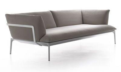 Sofa Yale 3 Sitzer L 220 Cm Beige Gestell Weiss 3 Sitzer Von