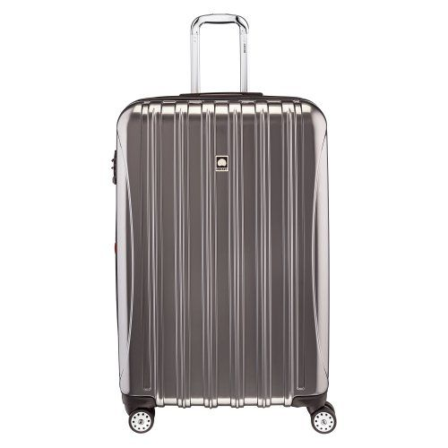 delsey luggage helium aero 29 inch expandable spinner trolley platinum one size delsey luggage. Black Bedroom Furniture Sets. Home Design Ideas