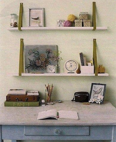 Diy shelves i think ribbons would work perfectly or old belts diy shelves i think ribbons would work perfectly or old belts solutioingenieria Gallery