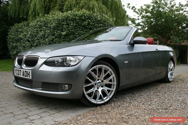2007 BMW 335i SE CONVERTIBLE Grey Manual 81k miles #bmw #335 ...