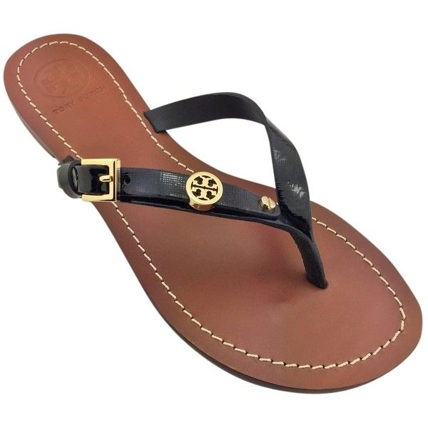 a99440189c34fa coupon for tory burch monogram flat sandal 559e9 72975